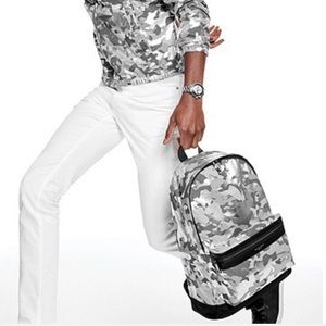 New mens nylon backpack larhe